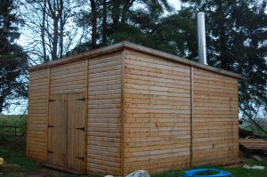 District Heating System Eco Shed